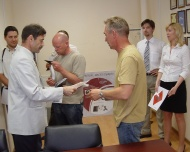 Delivery of the certificate